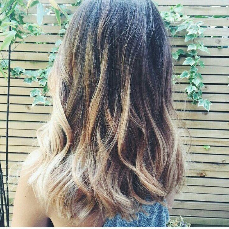 Zoella Balyage hair