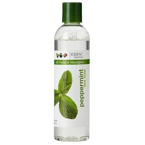 EDEN Body Works All Natural Peppermint Tea Tree Shampoo - 8oz