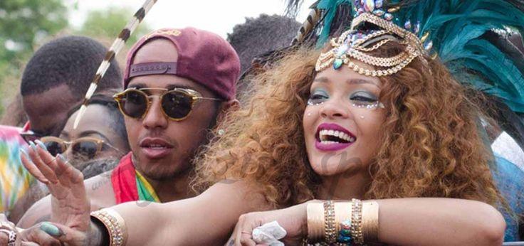 Rihanna y Lewis Hamilton