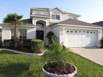 Orlando Vacation Rental - VRBO 15192 - 5 BR Central-Disney-Orlando Area House in FL, South-Facing, Lake View - Game Room - 5 Bedrooms, 3 King Beds