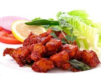 HomeMaker's Cookbook: Zero Oil - Chicken 65 - Air fryer