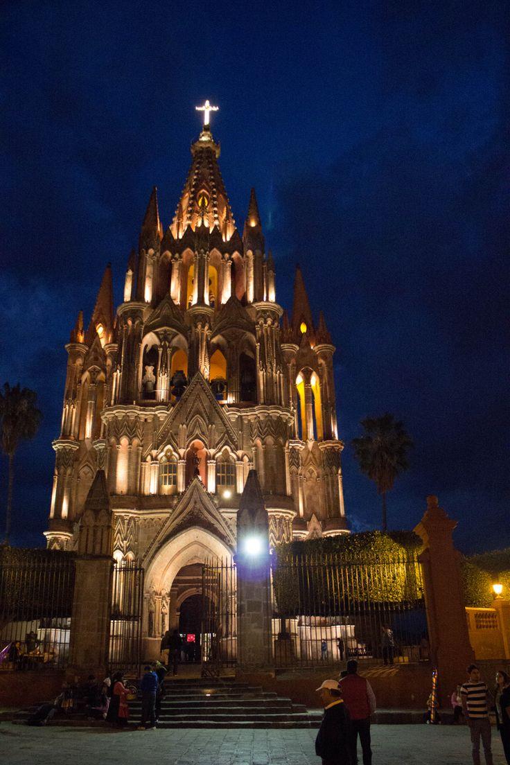 Catedral de San Miguel de Allende, Mexico