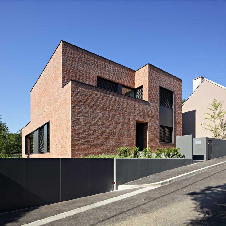 1000 Ideas About Modern Brick House On Pinterest Brick Homes Brick Houses And Bricks