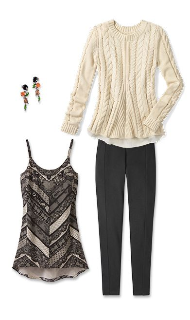 Check out five unique ways to mix and match the Lace-Up Sweater with other cabi items!  jeanettemurphey.cabionline.com
