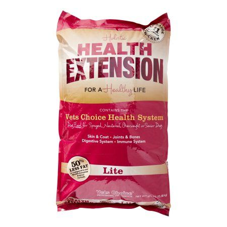 Vets Choice Holistic Health Extension Lite Free Range Chicken Dry Dog Food, 35 Lb