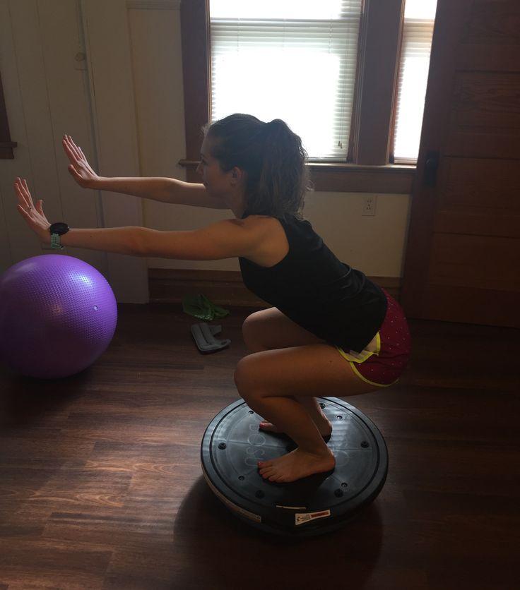 Bosu Ball One Leg Squat: Best 25+ Hamstring Workout Ideas On Pinterest