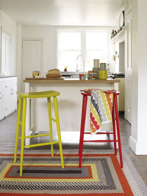 Wake Up Early For Breakfast With Our Bright Breakfast Bar Ideas Using Talia  High Stools And