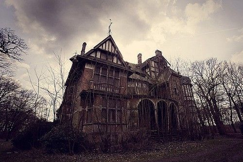 a haunted house treasures of life Sadly, this once magnificent brick mansion is in funky shape, looking like the  neighborhood haunted house, living up to all the ghost folklore, (some of it fables ).