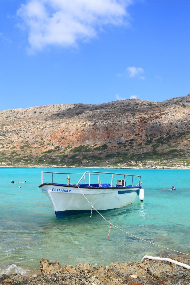 Balos Lagoon, Crete, Greece