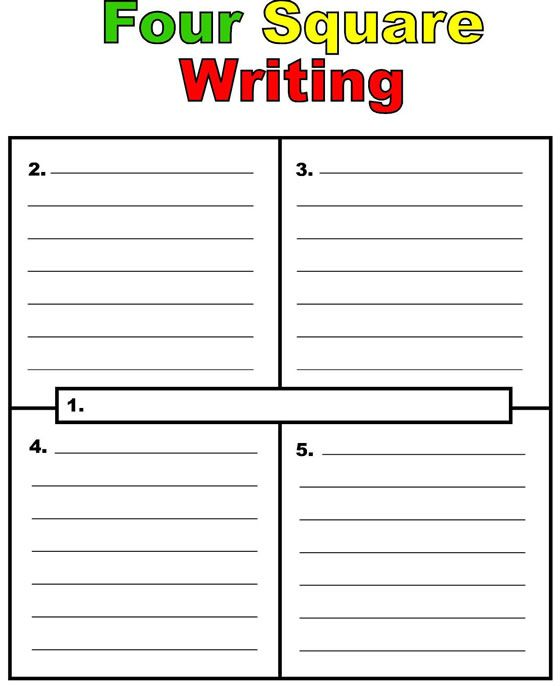 four square writing prompts The four-square writing method is useful in teaching writing skills, as well as in the deconstruction of writing students begin by placing a topic sentence in the center square.