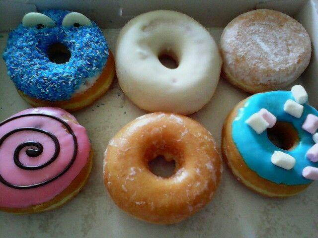 Donkin donuts....