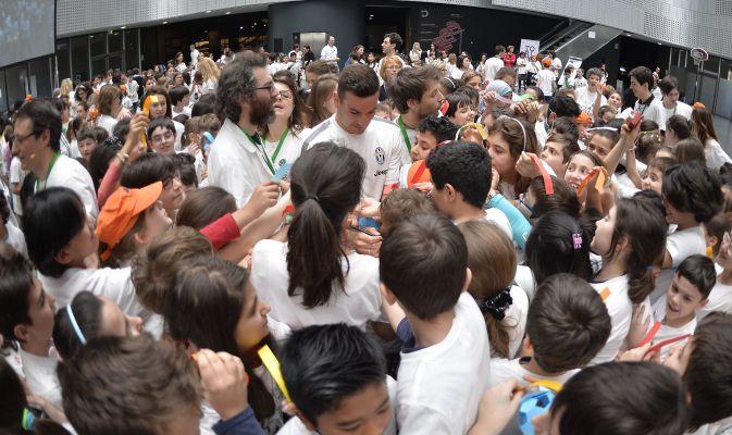 I ragazzi delle elementari incontrano la grande scienza organizzato da Fondazione Giovanni Agnelli