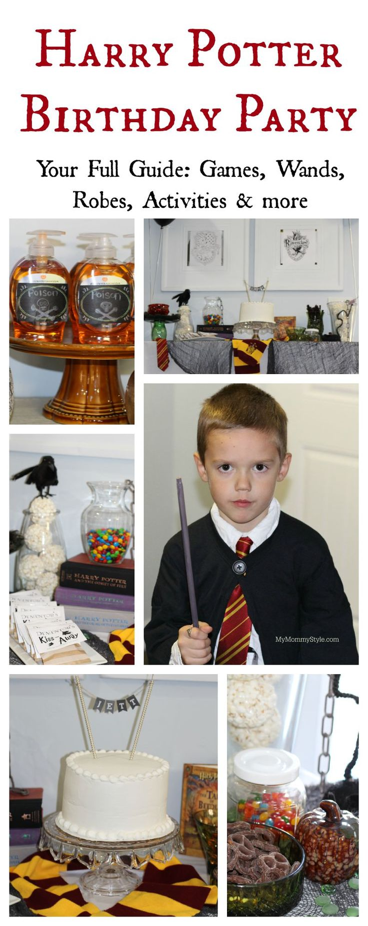 A complete Harry Potter birthday party that includes all of your guests, even the adults! So many fun ideas, my family would love this!