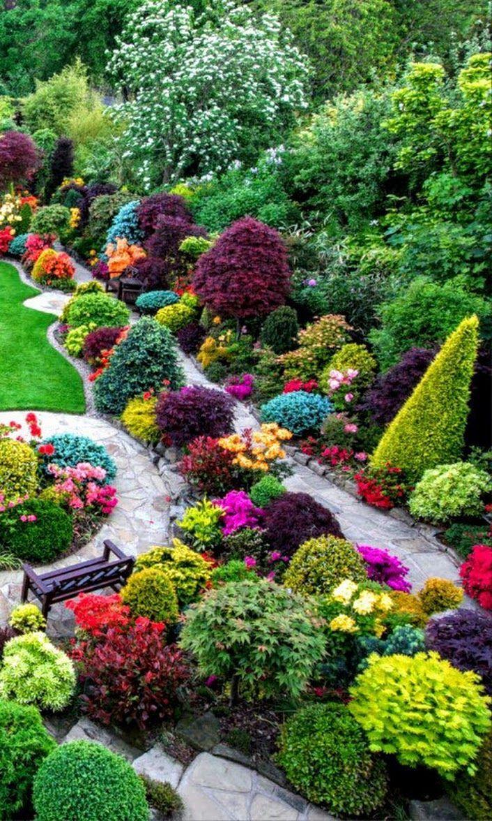 Epingle Par Nancie Blackburn Sur Garden Design Beaux Jardins Amenagement Paysager Paysagiste