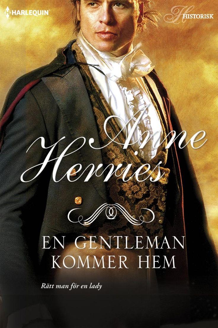 Harlequin Historisk - Miniserie: Skandalen på Steepwood # 9 -En gentleman kommer hem (Anne Herries) Begagnad Harlequin bok i bra skick En ge