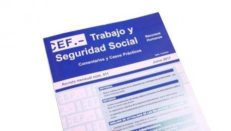 Cristóbal Molina, director de 'Revista de Trabajo y Seguridad Social', que edita CEF.-, XXXI Premio La Ley de artículos doctrinales
