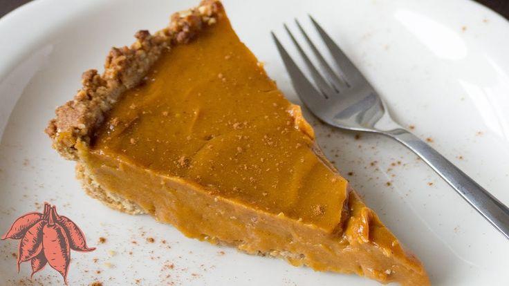 Vegan Sweet Potato Pie   Easy Thanksgiving Recipe