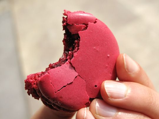 My greatest addiction (and a very expensive one as well) is to Laduree macarons!