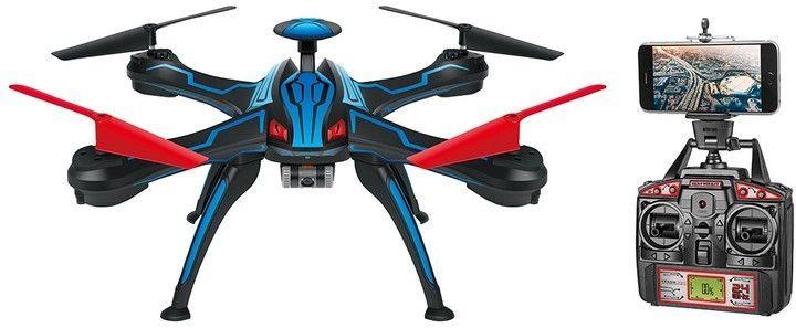 World Tech Toys Venom Pro Live Feed HD Camera GPS Drone 2.4GHz 4.5CH Picture/Video Camera RC Quadcopter