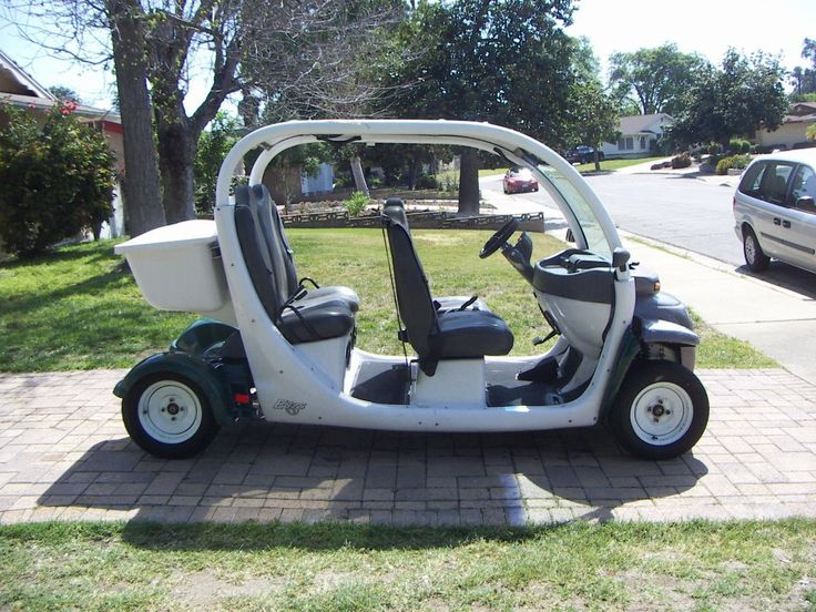 Used 2002 Gem 4 PASSENGER ATVs For Sale in California. Fully street legal. Overall in good condition. <br /> Only 8k miles. Gel batteries in good condition. After 24 hours after charging all batteries are 13.1 +/- 0.1V. Has good acceleration.<br /> All lights work. Brakes are strong. Tires are good with about 50% tread. Seats are in excellent condition for the age. New aftermarket steering wheel.<br /> Includes partial rain fly side covers. Front right needs zipper work.<br /> Sunroof has…