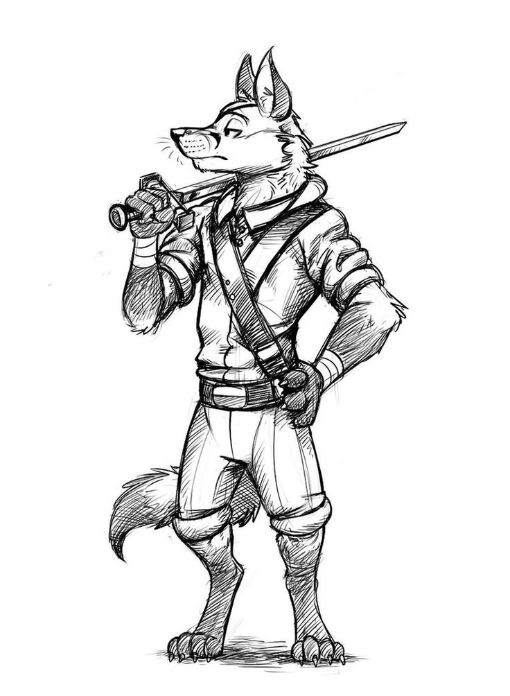 older furry character art - photo #43