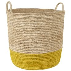 Bright Band 2 Handle Basket Large   Freedom Furniture and Homewares