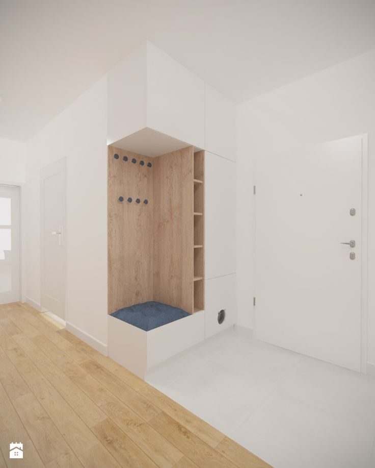 Bemowo - 90 m² - Hol / przedpokój, styl minimalistyczny - zdjęcie od Studio Monocco