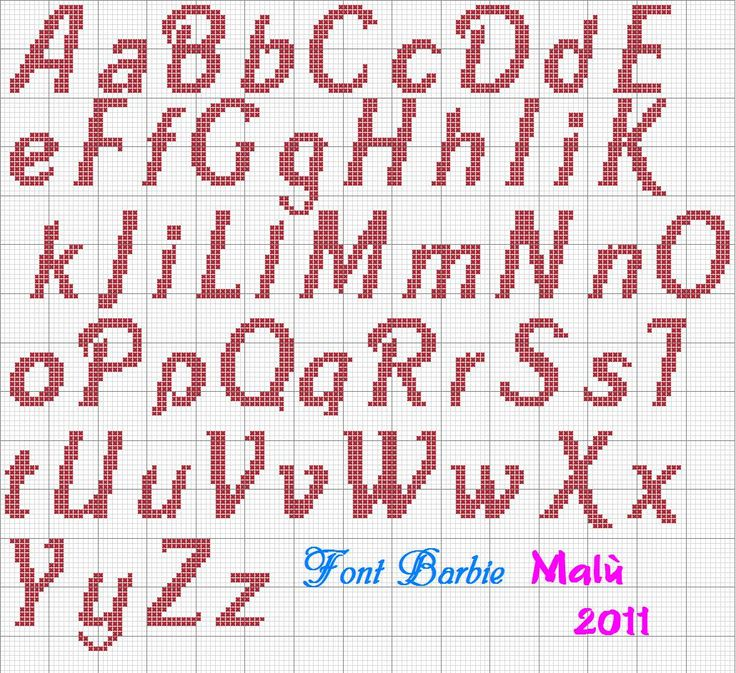 Dinha Ponto Cruz: monogramas em ponto cruz