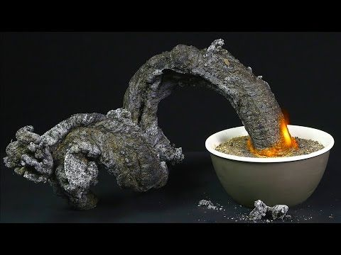 Amazing Fire Snake - The Black Snake Science Experiment - YouTube