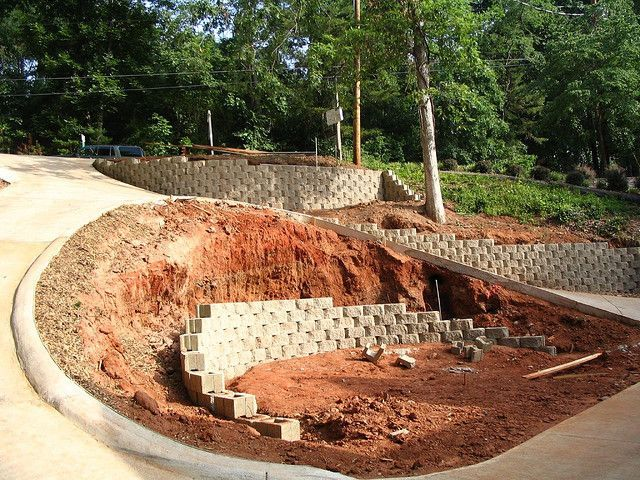 28 best home exteriors images on pinterest backyard for Steep driveway construction