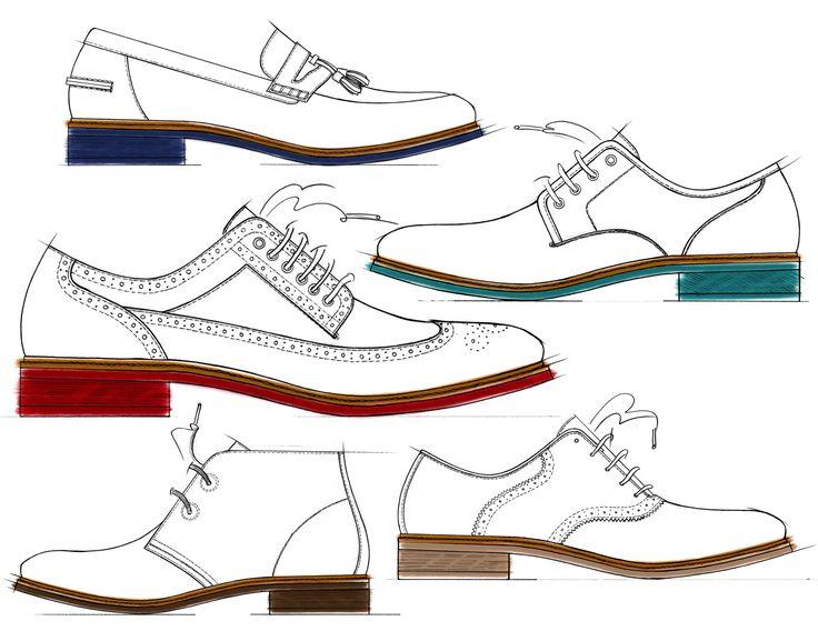 Resultado de imagen para oxford shoes sketch