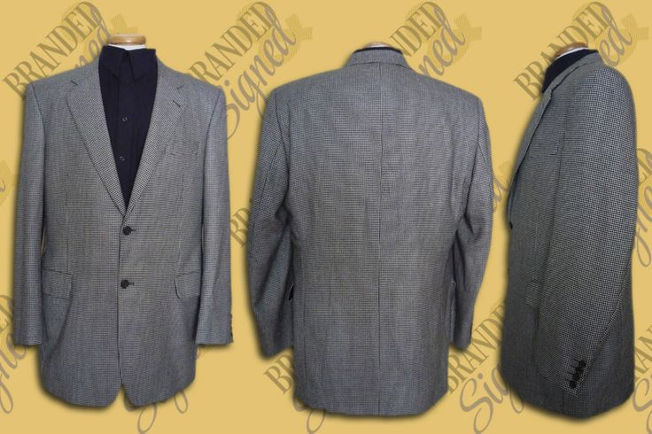 Loro PIANA CASHMERE Suit JACKET Men s 44 Long US Houndstooth Jack Victor Canada