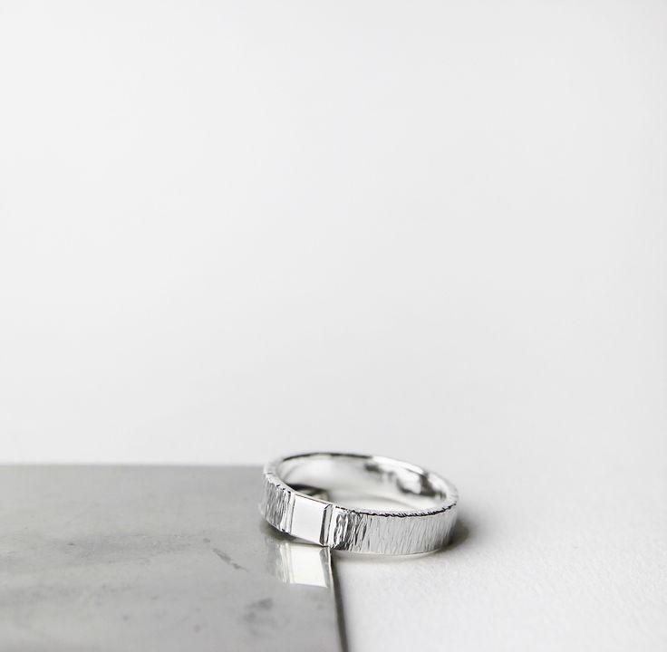 Custom-made men's ring - SIGNED