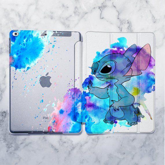 Stitch Disney Cartoon Art Painting Case