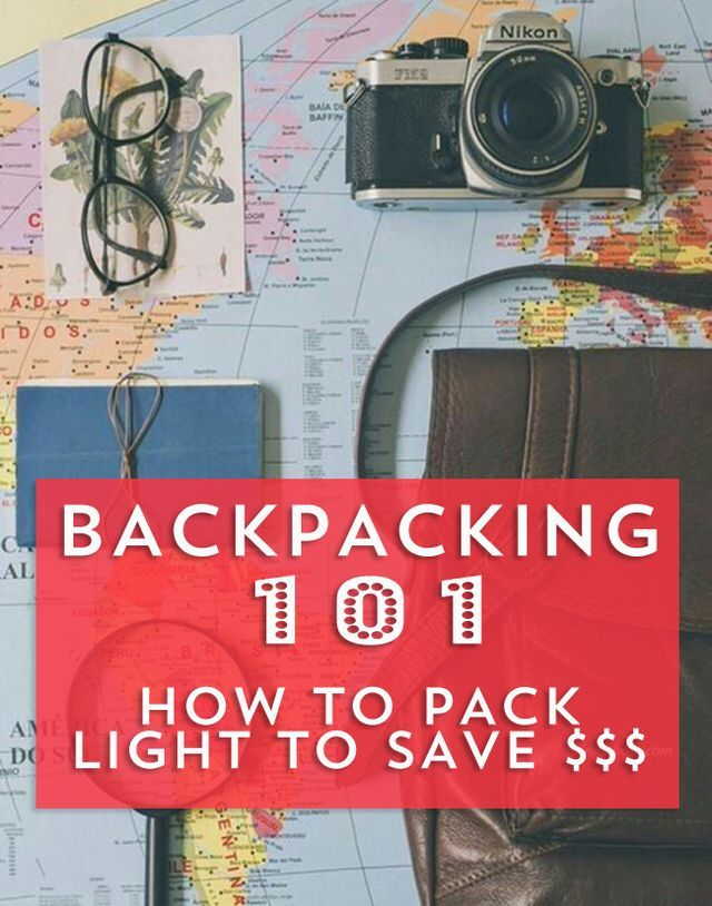 Juliette here, and I have some advice for any of you who think you're too much of a heavy packer to try backpacking. Trust me, you can do it and it'll save you a lot of backaches and checked luggage
