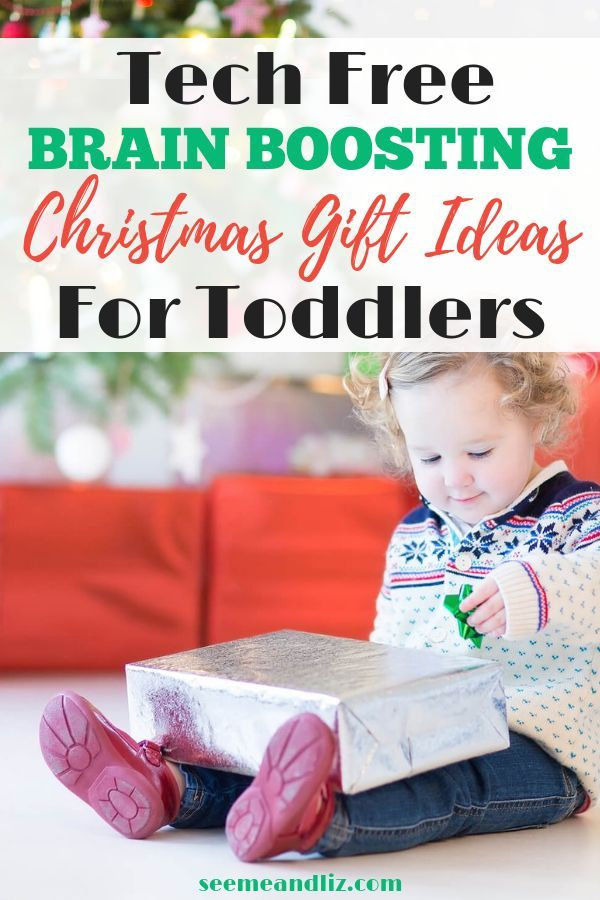 these inexpensive christmas gifts for toddlers are tech free but packed with opportunities for learning click to learn about all 10 gift ideas recommended