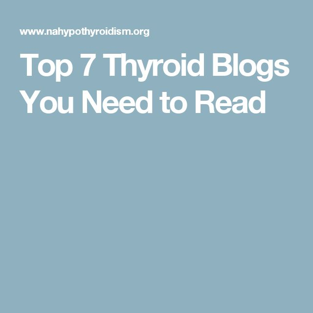 Top 7 Thyroid Blogs You Need to Read