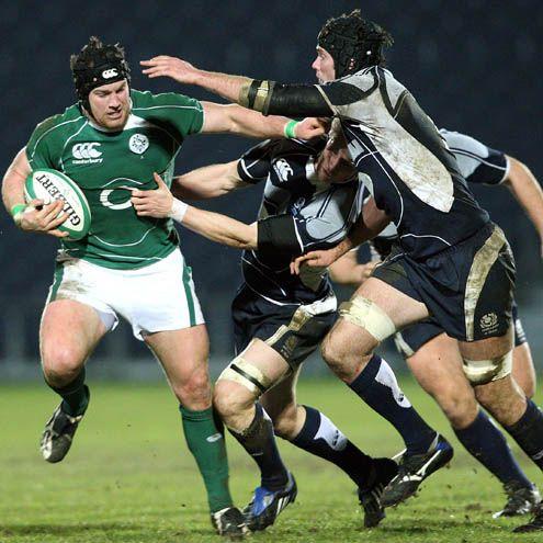 Leinster, Ireland Rugby player Seán O'Brien