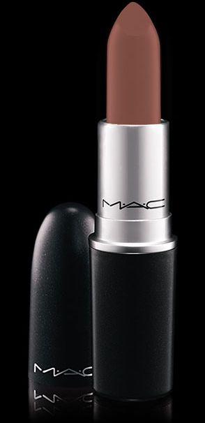 MAC Cosmetics: Lipstick in Taupe