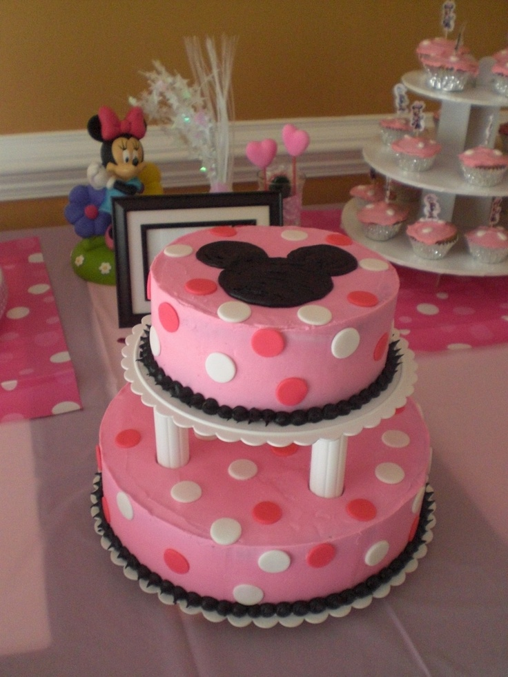 Wilton Cake Decorating Ideas Birthday : 341 best Minnie Mouse Party Ideas images on Pinterest ...
