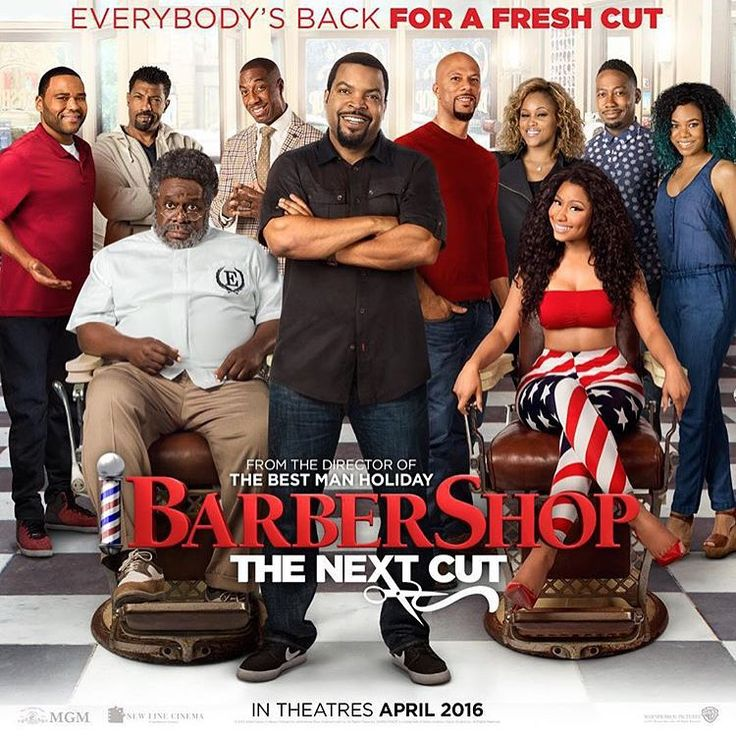 Can't wait for you guys to see this movie. #APRIL #BarberShop