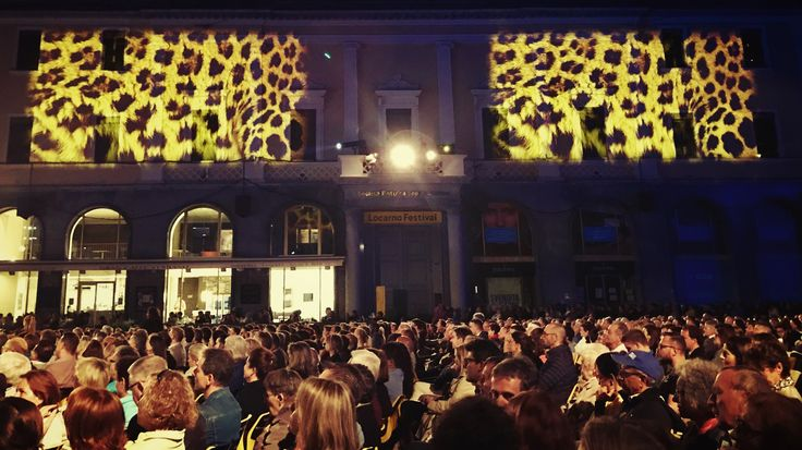 A fantastic atmosphere on the Piazza Grande at the 70 Film Festival of #Locarno.
