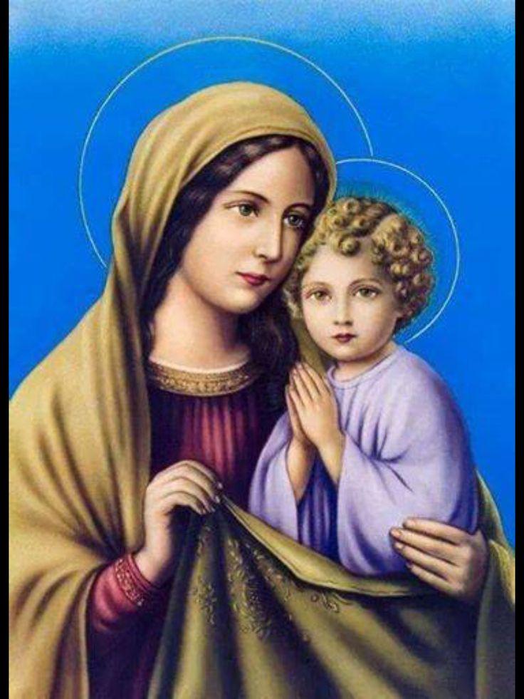 Картинки дева мария и иисус