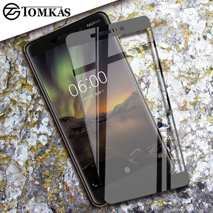 TOMKAS Glass For Nokia 5 3 8 Screen Protector Tempered 9H