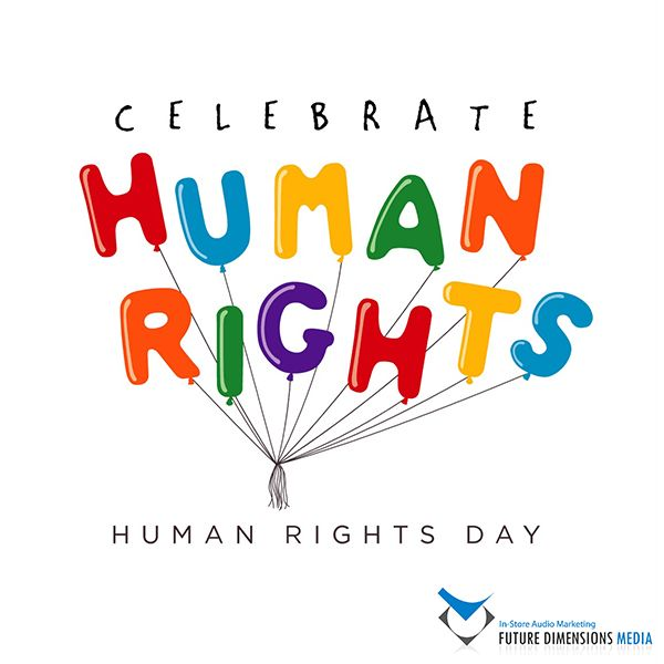 "Happy Human Right's Day!   ""Live life as though nobody is watching, and express yourself as though everyone is listening."""