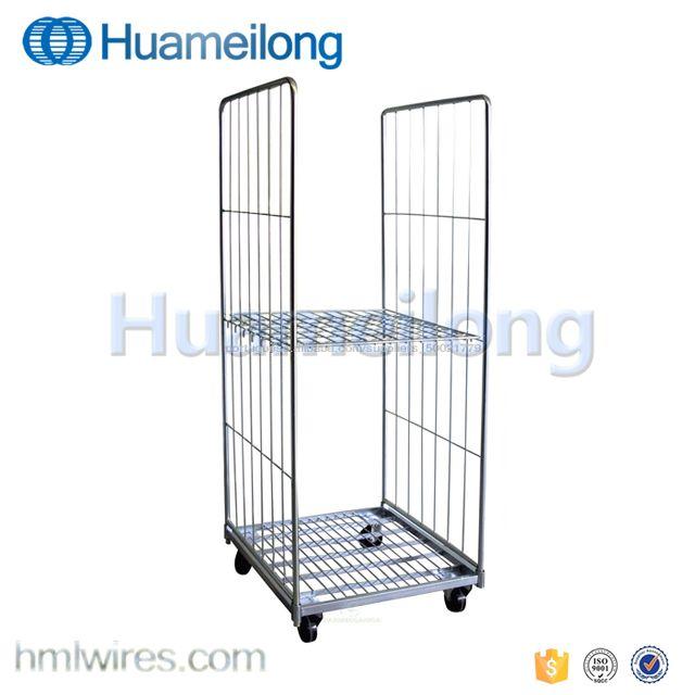 Malaysia heavy duty platform roll cage trolley man | alibaba
