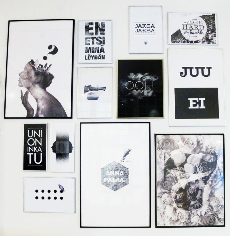 Smoyn taideseinä on on saanut pari uutta työtä seinälle. Design by Leyla Avsar, Katri Pakula, Elisa Nyberg & Iines VIkiö