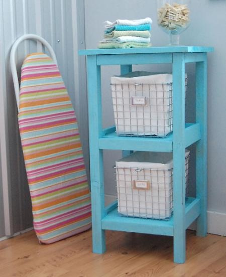 Diy Plans For Bathroom Storage Make Twice As High For