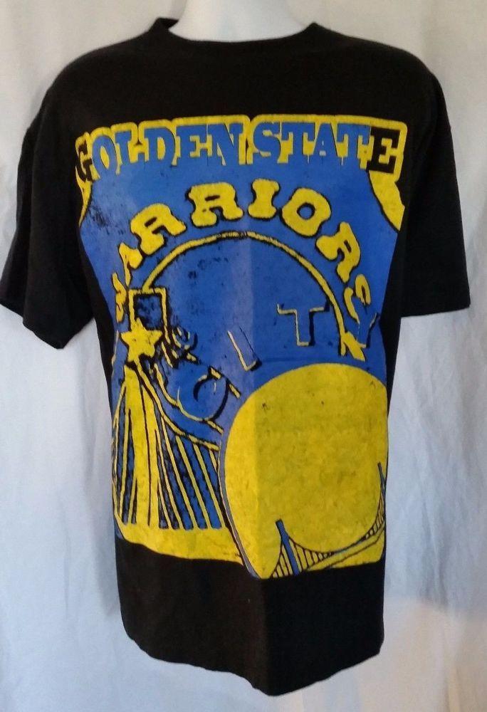 Golden State Warriors NBA Basketball Team T Shirt Size XL #ProComfortCrux…