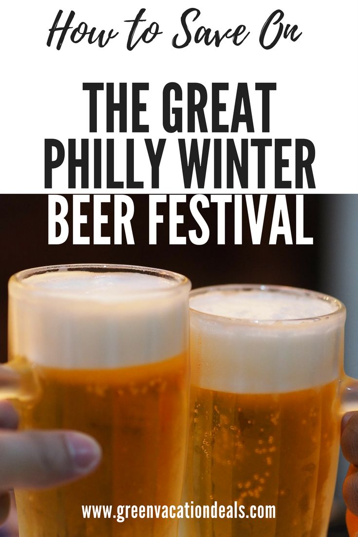 How to save money at Winterfest Live! Craft Beer Festival in Philadelphia. Enjoy the Great Philly Winter Beer Festival and taste more than 150 brews - plus lots of great entertainment! Find out how you can save money at this fun event in Philadelphia. Things To Do In Philadelphia #Philadelphia #Philly #BeerFestival
